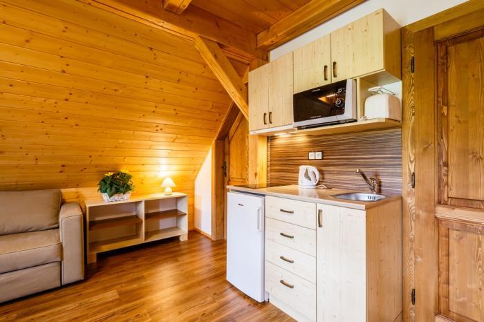Apartmán 4 - kuchyňská linka
